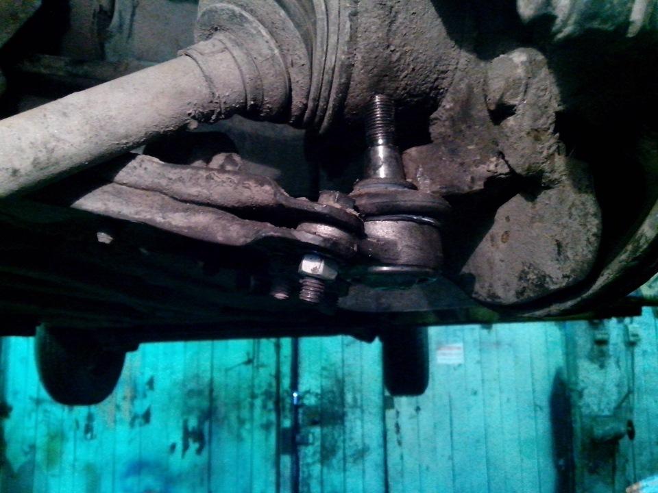 Замена шаровых опор фиат альбеа своими руками