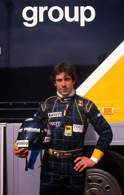 А это Паоло Барилла в бытность пилотом F1