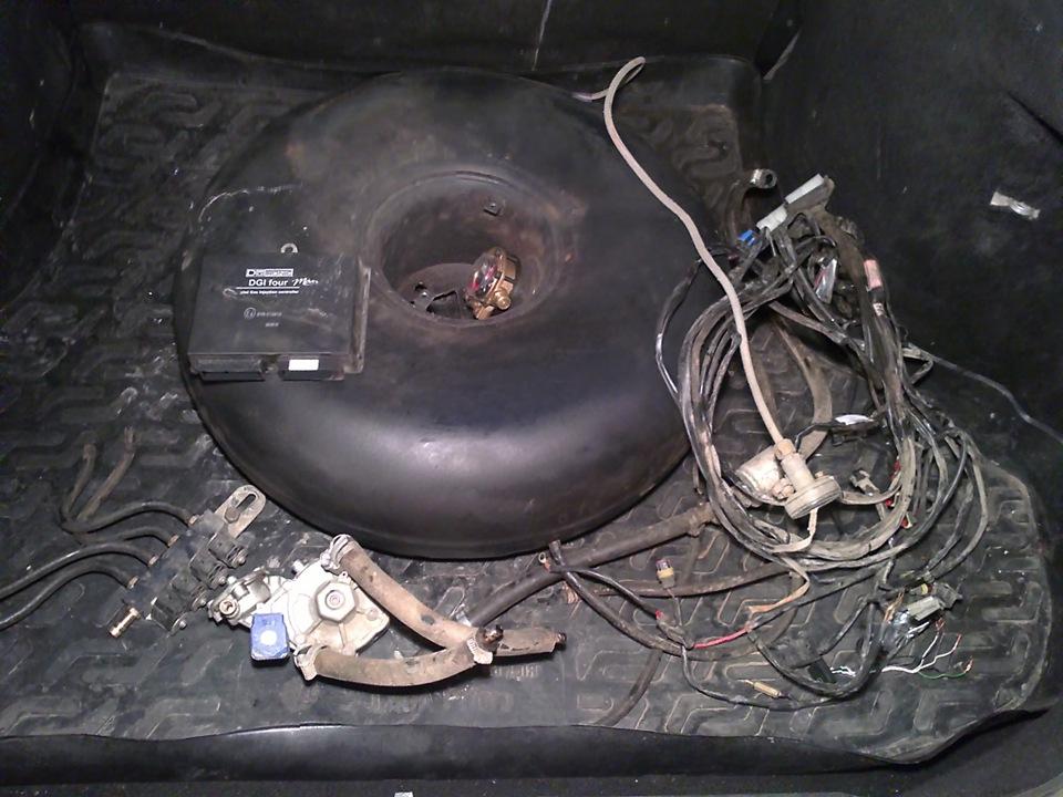 газовое оборудование на автомобиль 4 поколения фото