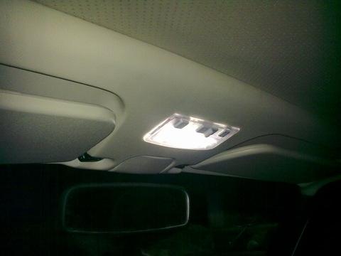 Установка дополнительного освещения салона ВАЗ 2107.