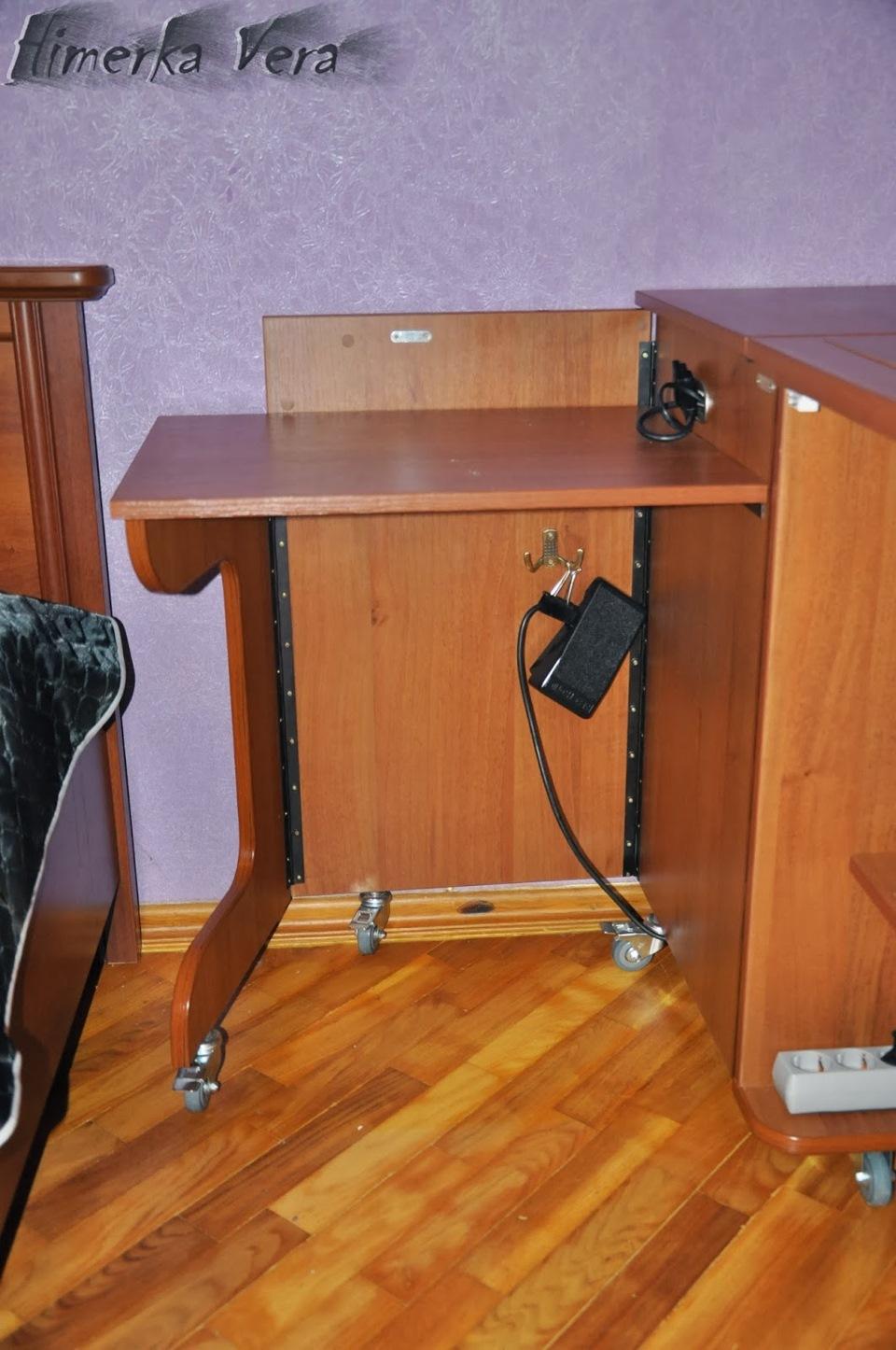 Как сделать самому стол для швейной машины