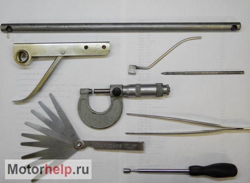 Инструмент для регулировки клапанов ваз 2108 своими руками 5