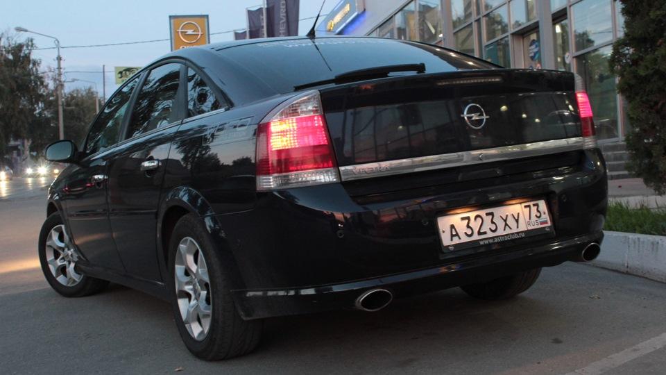 Opel Vectra - истребитель