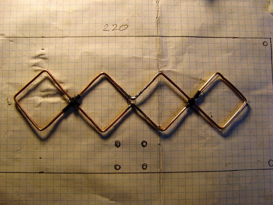 Антенна два квадрата