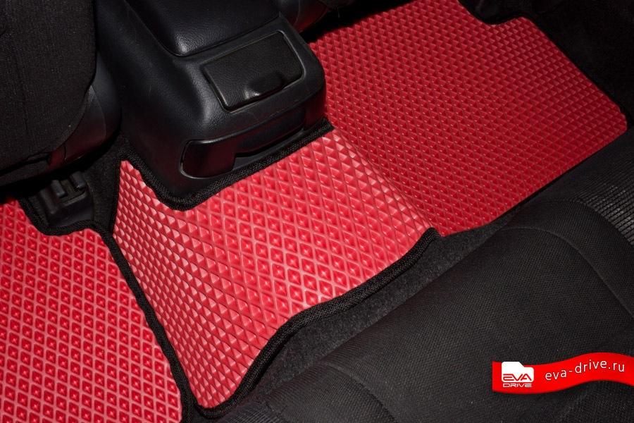 Сшить коврик в машину