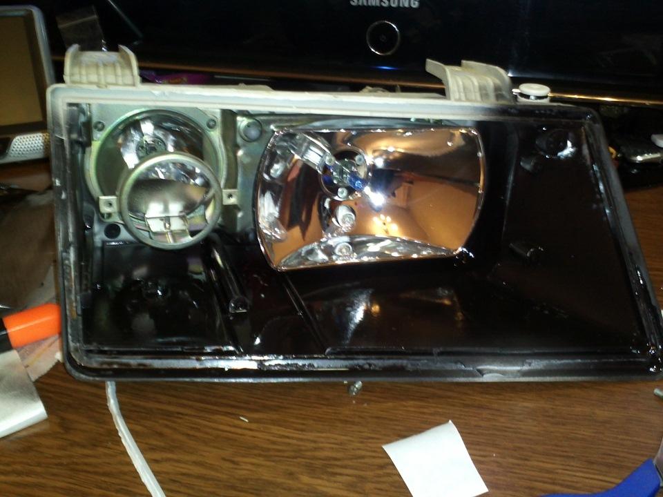 Фото №14 - ремонт фары ВАЗ 2110 своими руками