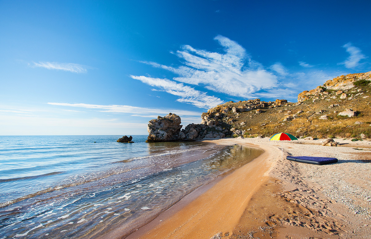 Фото моря крым пляж