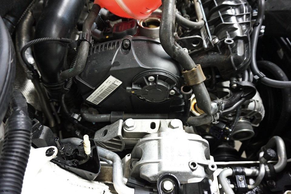 Двигатель для шкоды с цепью