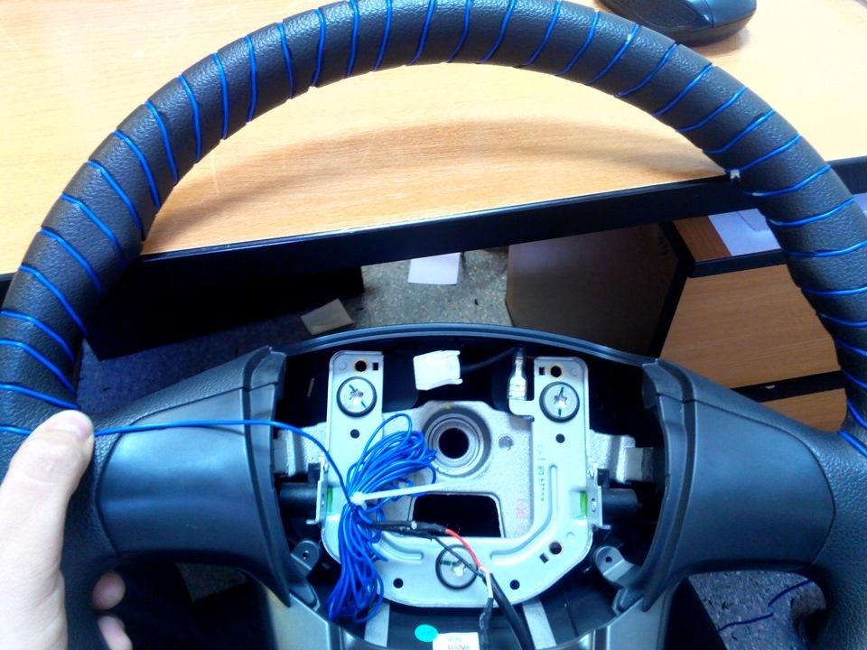 Нагревательный элемент в руль