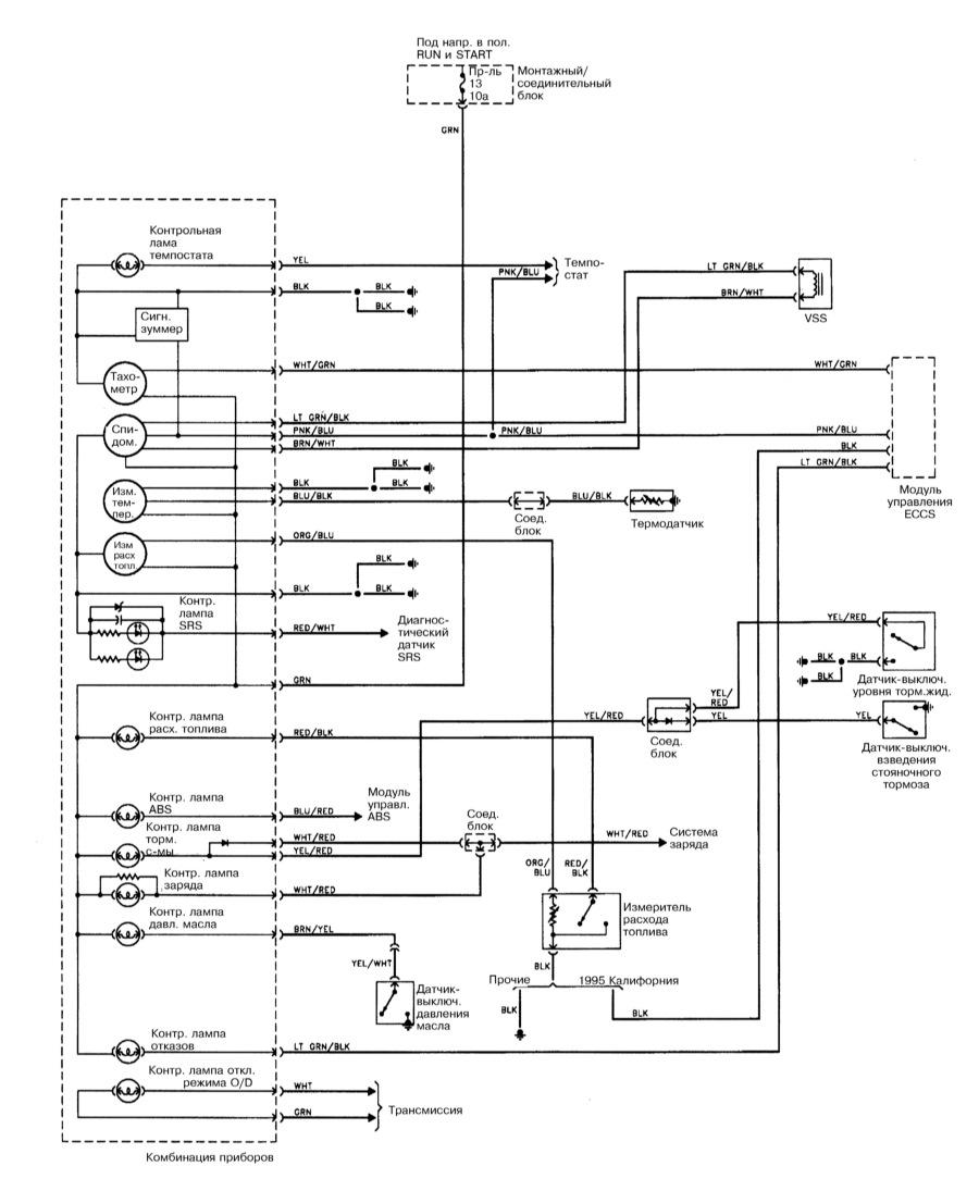Схема nissan cefiro a32