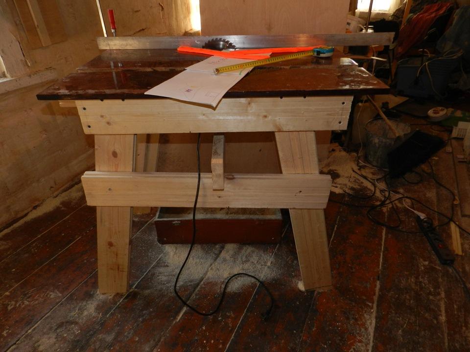 Распилочный стол своими руками