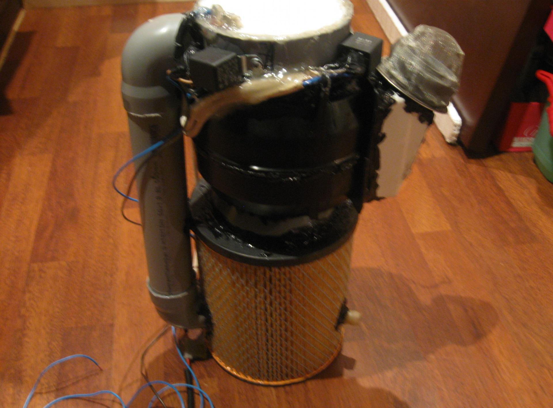 Как сделать нагнетатель воздуха из пылесоса 163