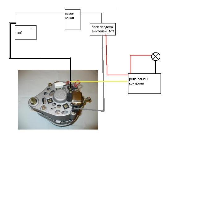 9ce1dd4s 960 - Схема зарядки ваз 2106 с выносным реле