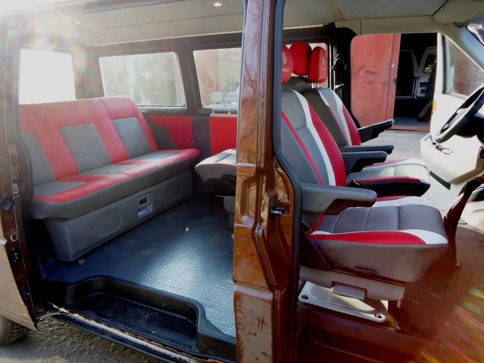 Переоборудование салона микроавтобуса своими руками