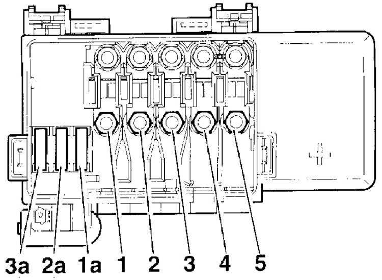 volkswagen bora 2,3 схема реле