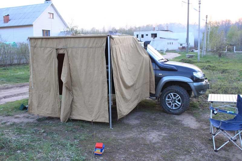 Под покровом дня: DIY-идеи для создания шатра на участке
