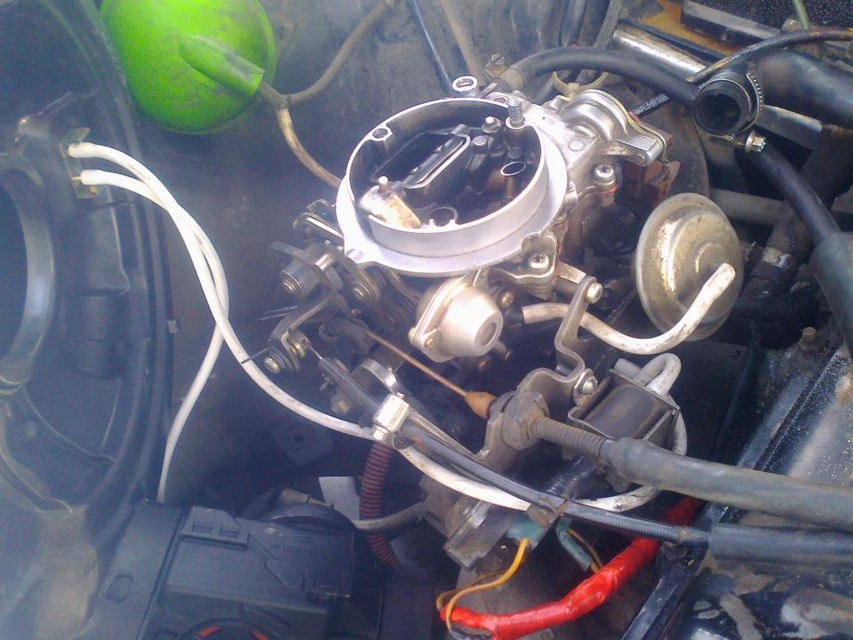 Двигатель RU карб Keihin II с