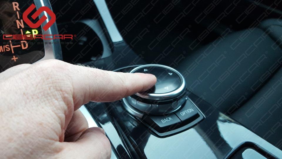 Контроллер управления для iDrive настроен очень точно, что делает управление быстрым и очень отзывчивым на движение пальца.