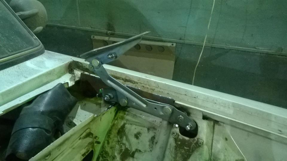 Как сделать петли на капот