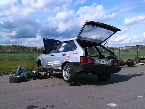 Гоночная команда ВАЗ Team - Lada