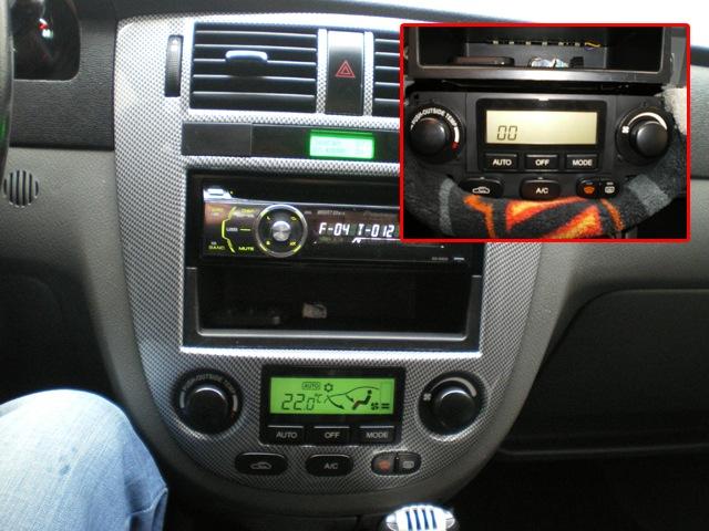 chevrolet lacetti седан установка климат контроля