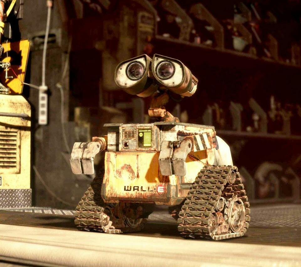 видео про робота валли всегда