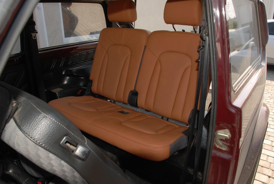 Установка неродного салона (сиденья передзад) в свой авто