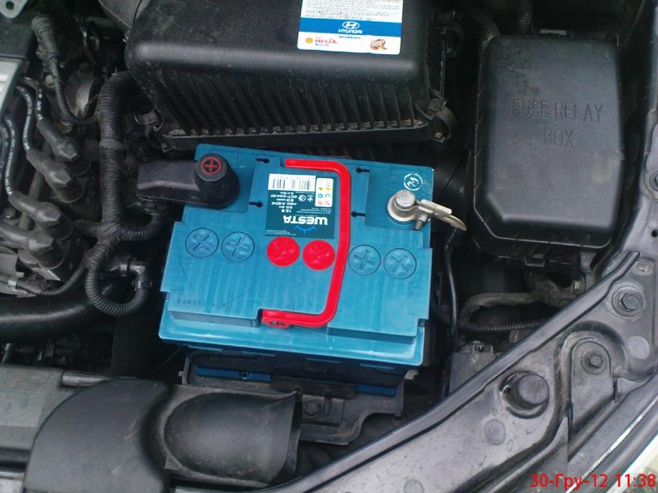 аккумулятор для тойота аурис 2008