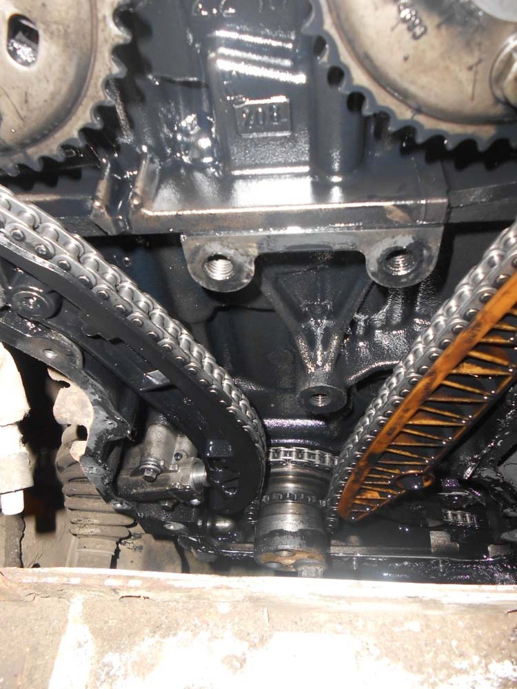 ford mondeo 3 tdci установка цепи грм