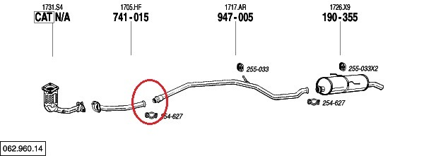 Замена глушителя на пежо 206
