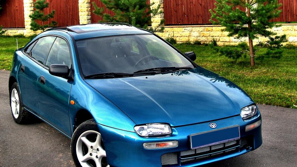 мазда 323 1997 года фото