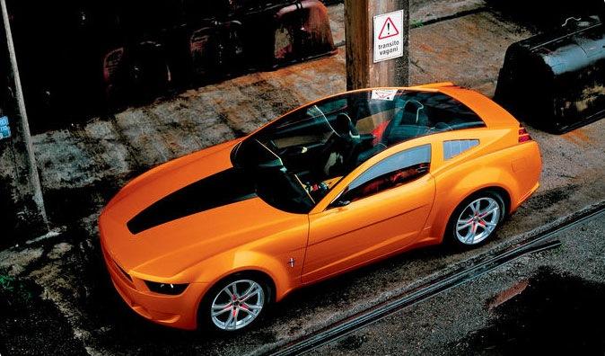 концепт кары форд мустанг