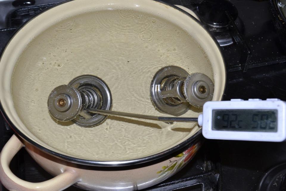 Термостат в домашних условиях