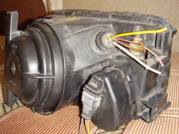 Электрокорректор фар