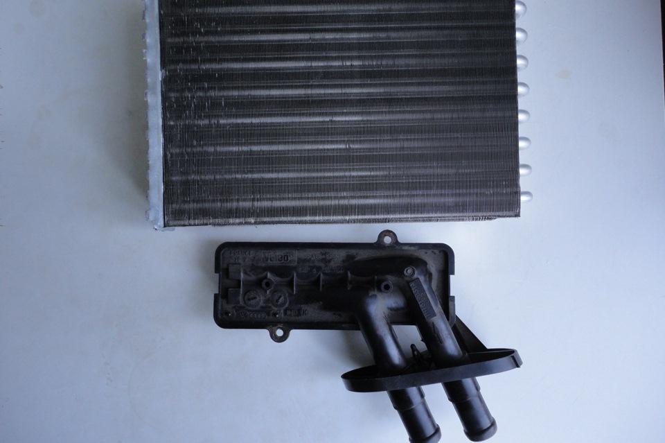 Замена радиатора охлаждения нивы шевроле