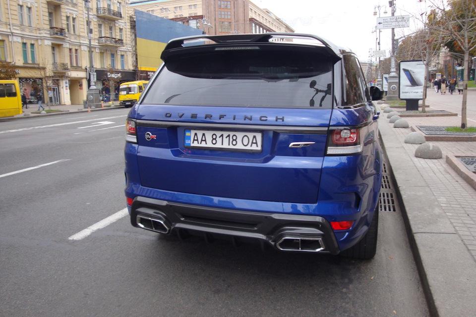 Range Rover Overfinch >> Land Rover Range Rover Overfinch Gt Svr 2015 Drive2