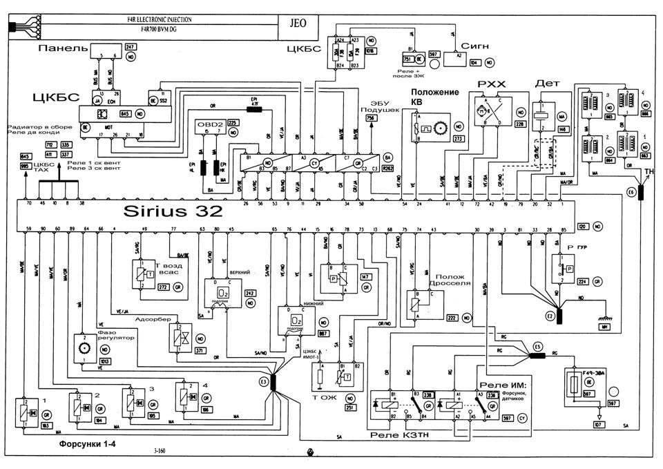 Renault Fuel Pump Wiring Diagram Schematic Electronic