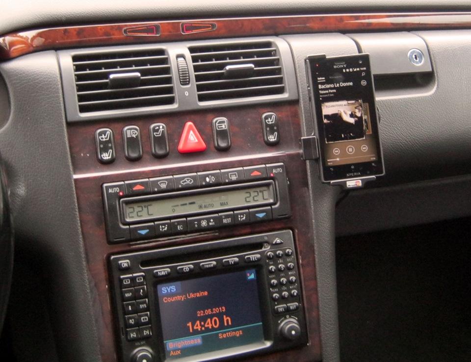 Как играть MP3 в W210  Вариант  — Mercedes-Benz E-class, 3 2 л