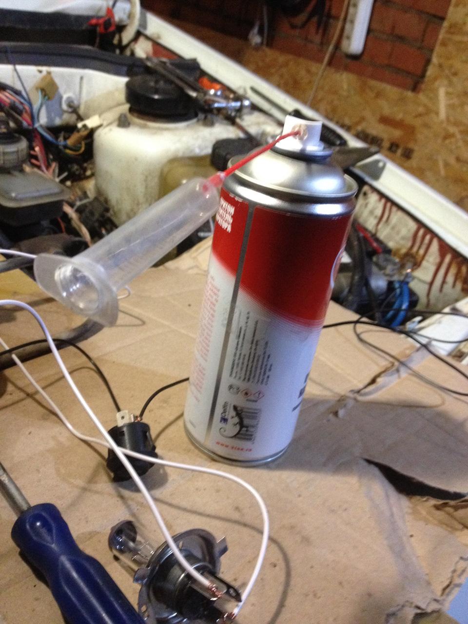 Промывка инжектора своими своими силами видео 55