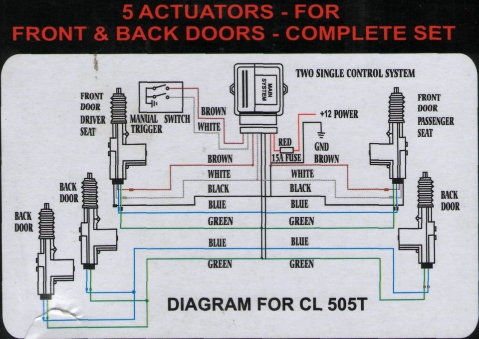 центральный замок cl500 инструкция