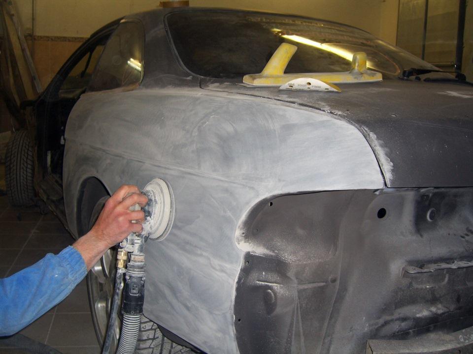 Как грунтовать автомобиль своими руками