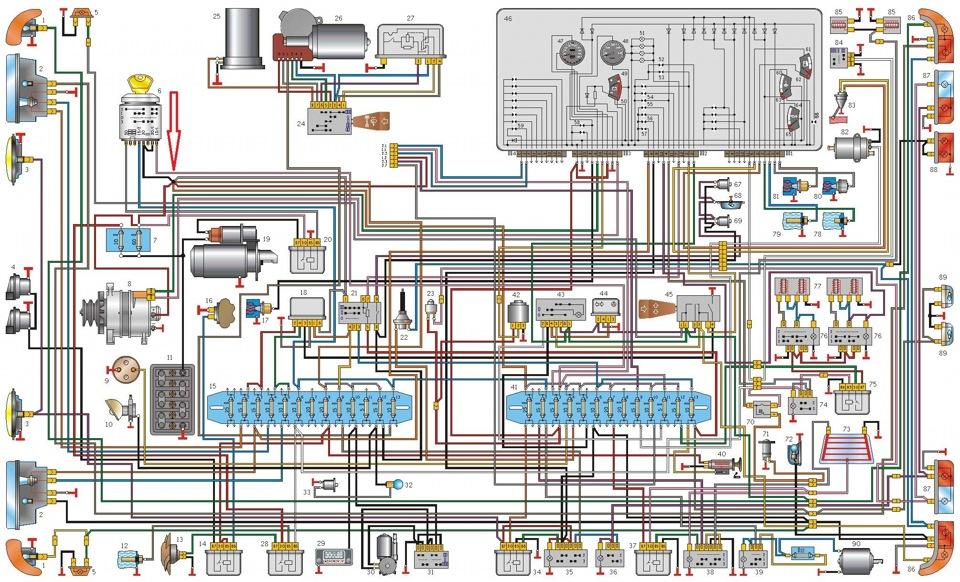Вопрос по электрике ГАЗ 3110