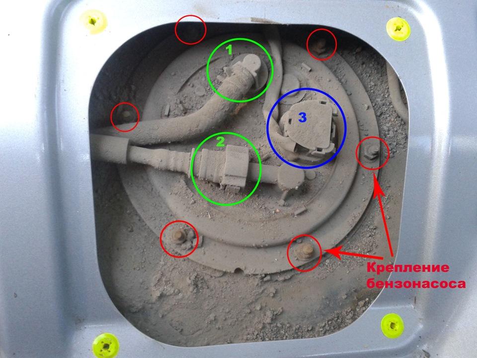 Замена топливного фильтра лансер 9 своими руками