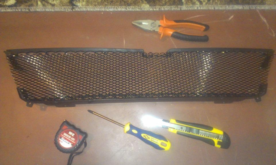 Изготовление своими руками решетки радиатора