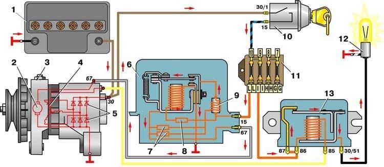 Схема №4 Схема соединений