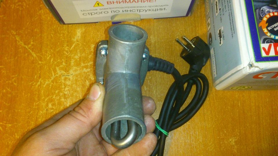 Своими руками электроподогревателя двигателя