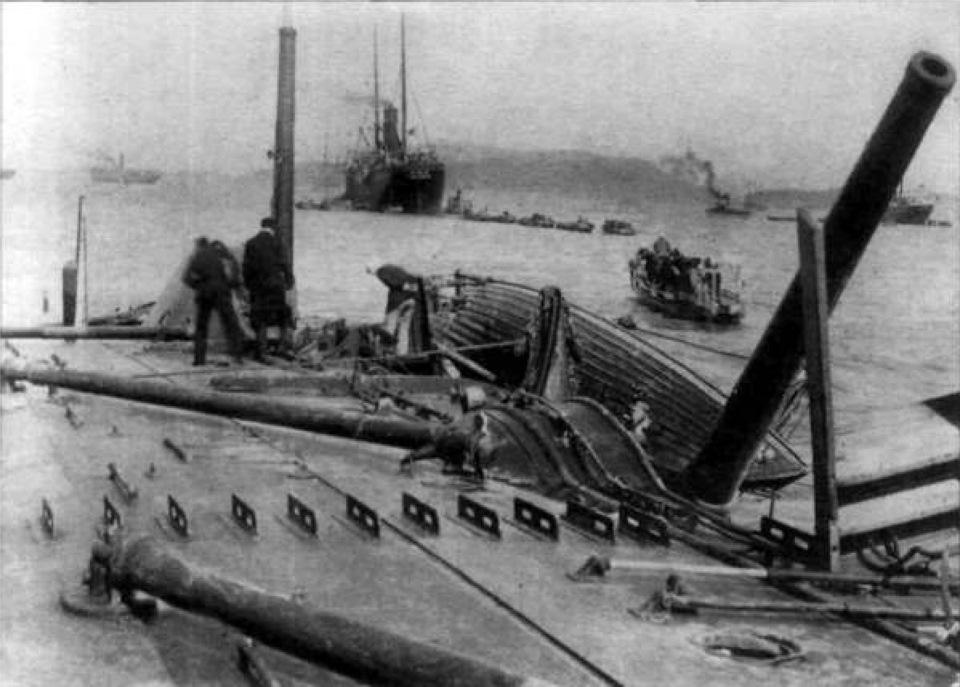 Доставка Москве подьем останков крейсера варяг около шотландии наступлением