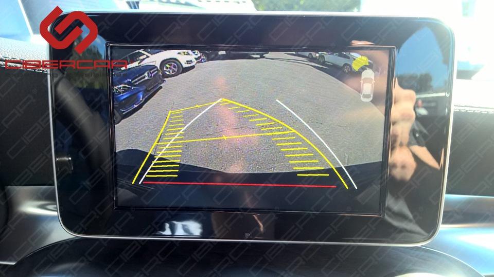 Динамические линии интеллектуальной парковки.