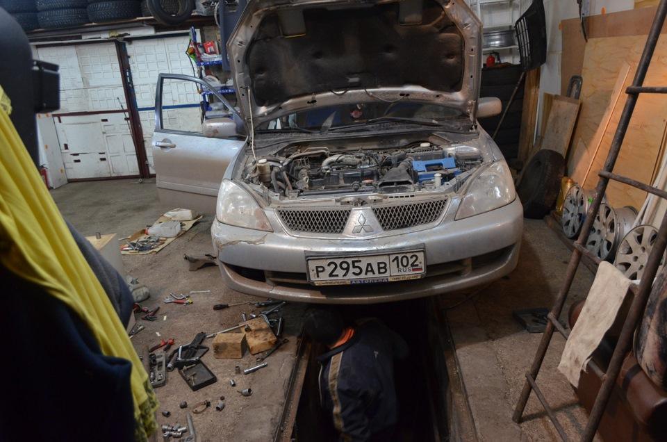 Ремонт автомобилей митсубиси своими руками 91