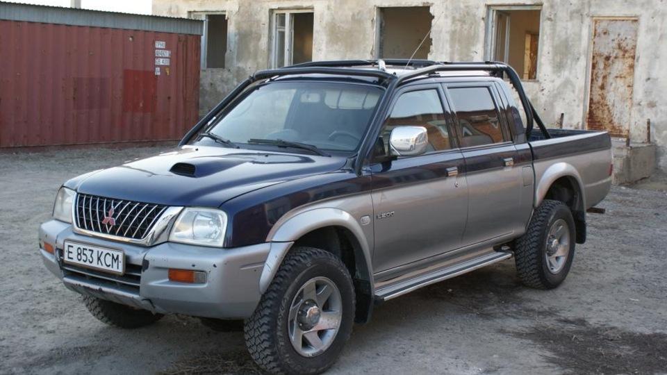 митсубиси л200 третьего поколения фото